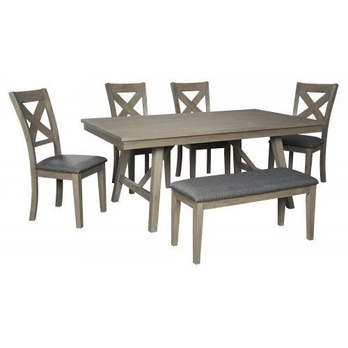 ALDWIN 6 PC DINING SET