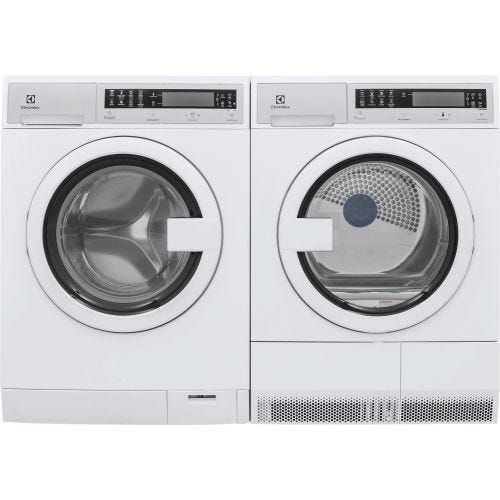 Electrolux FRONT LOAD WASHER AND ELECTRIC DRYER SET ELX210TIW