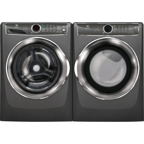 Electrolux FRONT LOAD WASHER AND ELECTRIC DRYER SET ELX627UTTEL