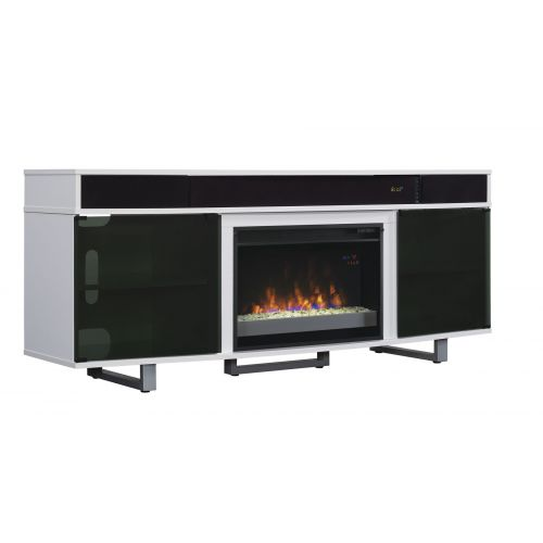 ENTERPRISE SOUND ELECTRIC FIREPLACE MEDIA STAND -