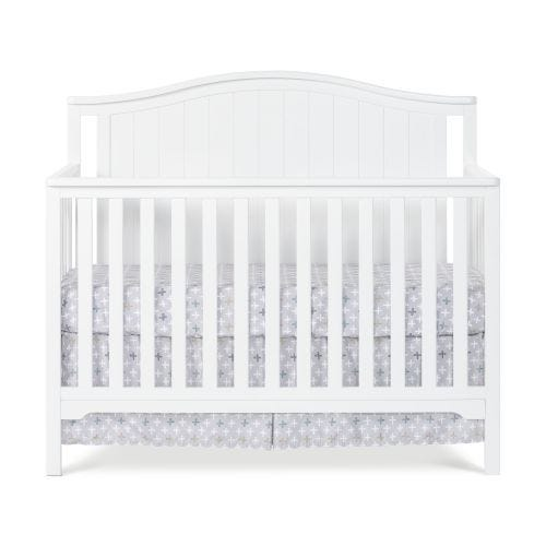 CAPE COD ARCH TOP CONVERTIBLE CRIB - MATTE WHITE