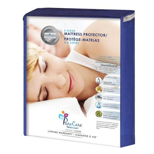Twin Size 5-Sided Mattress Protector