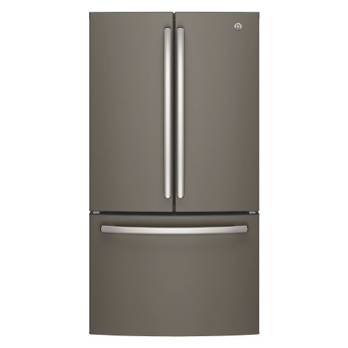 GE SLATE 26.7 CU FT FRENCH DOOR REFRIGERATOR GNE27JMMES