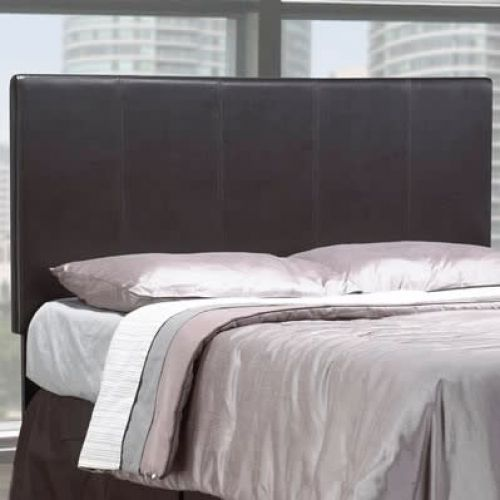 ROXIE TWIN UPHOLSTERED HEADBOARD - ESPRESSO