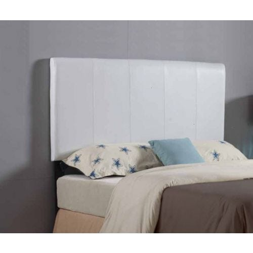 ROXIE TWIN UPHOLSTERED HEADBOARD - WHTE
