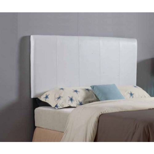ROXIE QUEEN UPHOLSTERED HEADBOARD - WHITE