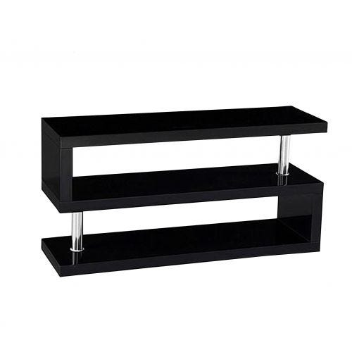 DONELY TV STAND - BLACK