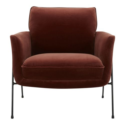 AVEN CHERRY ACCENT CHAIR