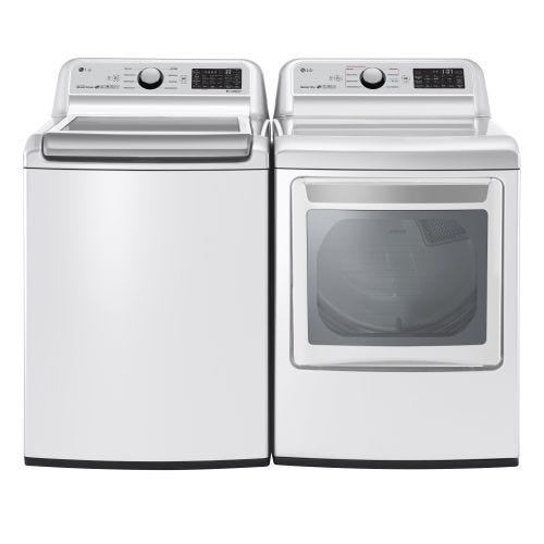 LG TOP LOAD WASHER AND ELECTRIC DRYER SET 7300EL