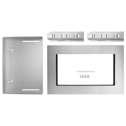 "KitchenAid 30"" Trim Kit for 1.6 cu. ft. Countertop Microwave Oven MK2160AS"