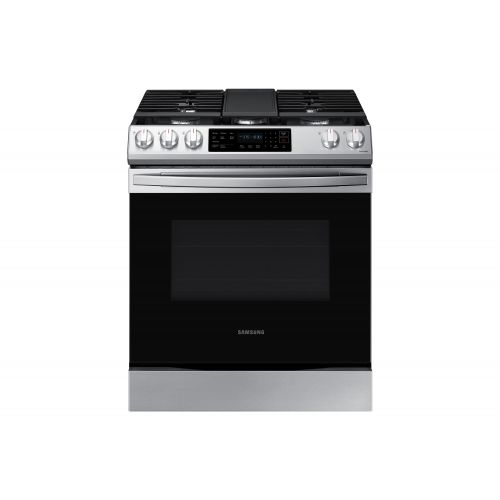 Samsung 6.0 CU FT SLIDE IN GAS RANGE WITH WIFI NX60T8311SS/AA