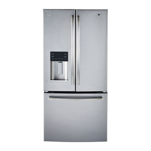 GE Profile STAINLESS 23.5 CU FT FRENCH DOOR REFRIGERATOR PFE24HSLKSS