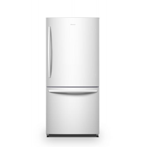 Hisense 17 CU FT WHITE BOTTOM FREEZER FRIDGE RB17N6DWE