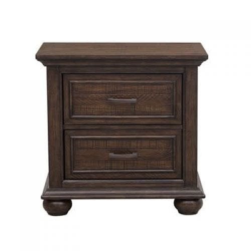 CHATHAM PARK NIGHTSTAND - BROWN