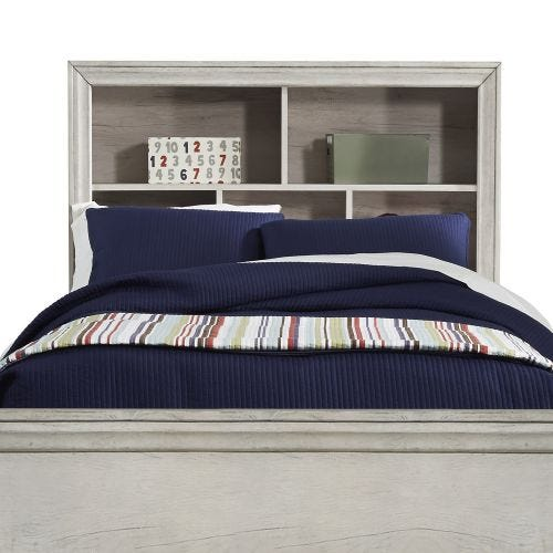 RIVERWOOD YOUTH TWIN BOOKCASE HEADBOARD