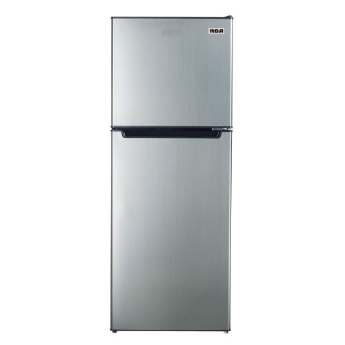 RCA 7.2 CU FT TOP FREEZER REFRIGERATOR-PLATINUM FINISH SP-RFR725