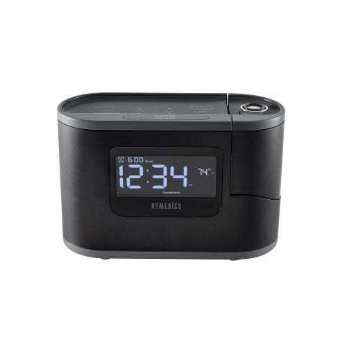 HOMEDICS ALARM CLOCK AND SOUND MACHINE