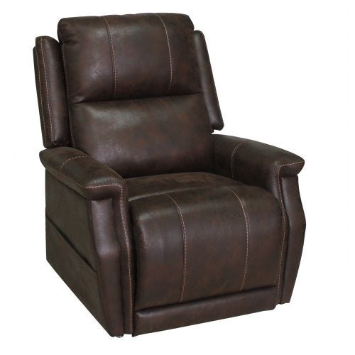 THE BOOST WALNUT LIFT CHAIR W/HEAT & MASSAGE