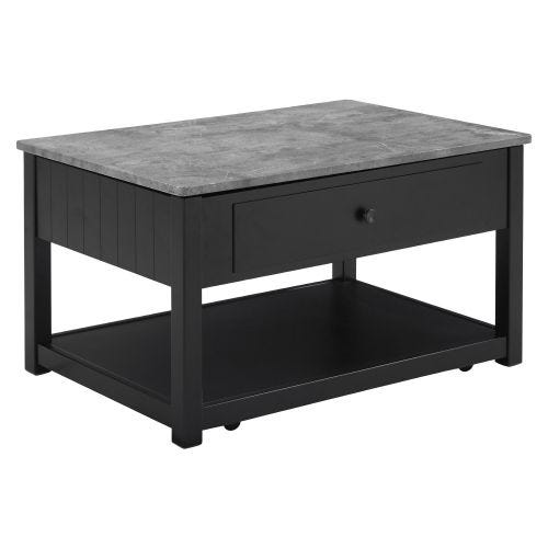 EZMONEI LIFT TOP COFFEE TABLE W/CASTERS