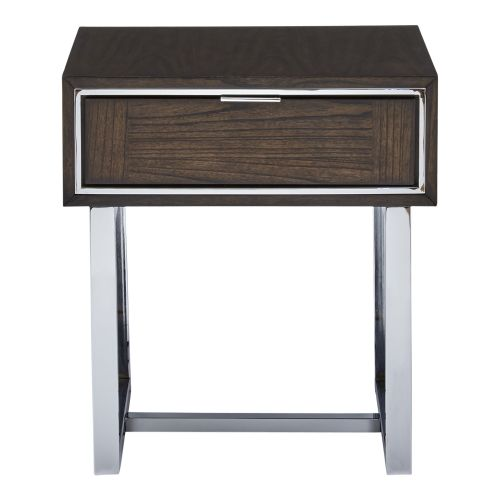 CORVIN RECTANGULAR END TABLE