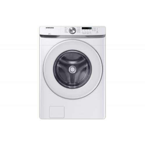 Samsung 5.2 cu.ft. Front Load Washer with Shallow Depth in White WF45T6000AW/A5
