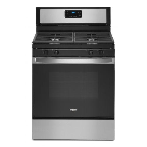 Whirlpool 5.0 cu. ft. gas range with SpeedHeat burner WFG515S0JS