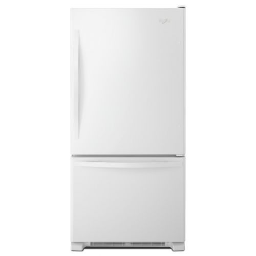 Whirlpool 19 cu. ft. Bottom-Freezer Refrigerator with Freezer Drawer WRB329DFBW
