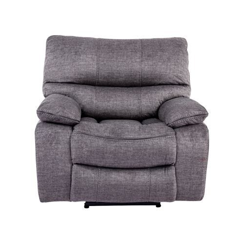MACIE CHARCOAL GLIDER RECLINER