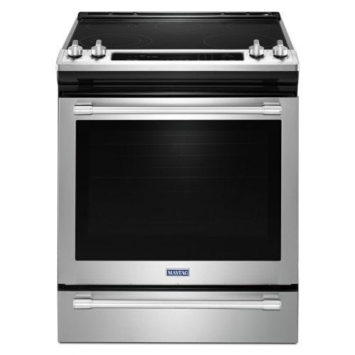 Maytag 30-INCH WIDE ELECTRIC RANGE WITH TRUE CONVECTION 6.4 CU. FT. YMES8800FZ