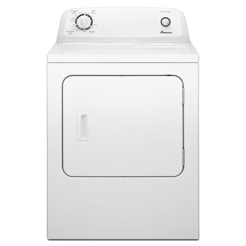 Amana 6.5 cu. ft. Top-Load Electric Dryer with Automatic Dryness Control YNED4655EW