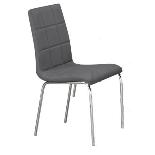 ANNETTE SIDE CHAIR - GREY