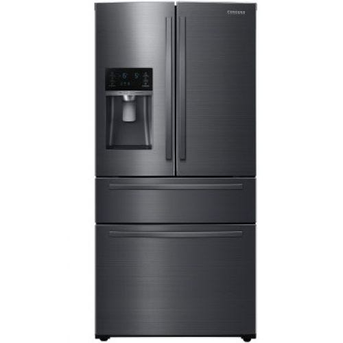 Samsung 25 CU FT 4 DOOR FRENCH DOOR REFRIGERATOR RF25HMIDBSG/AA