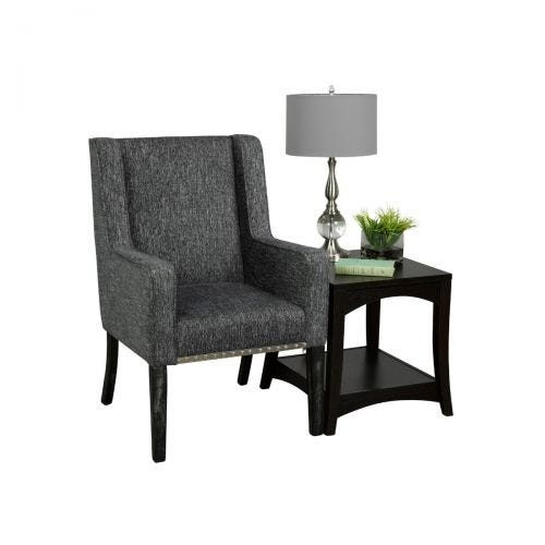 RUTLAND SLATE ACCENT CHAIR