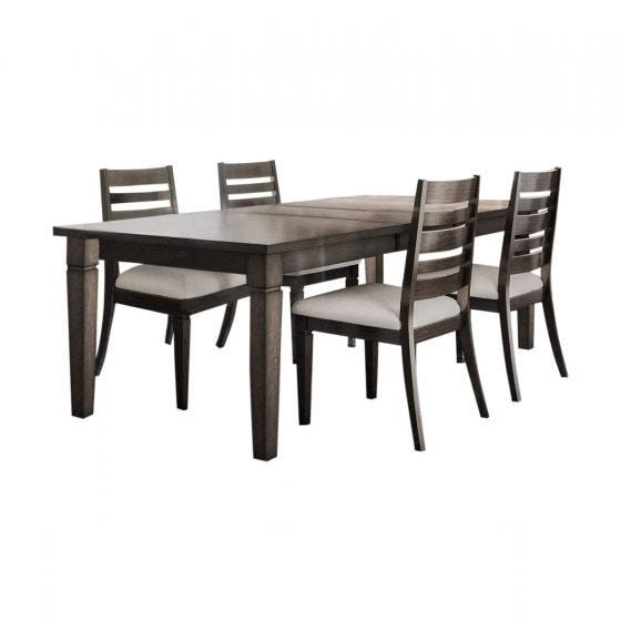 LINCOLN SQUARE 5 PC DINING SET