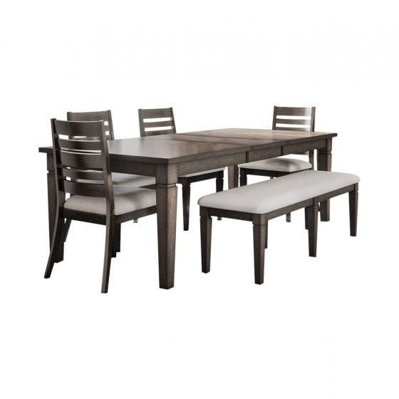 LINCOLN SQUARE 6 PC DINING SET