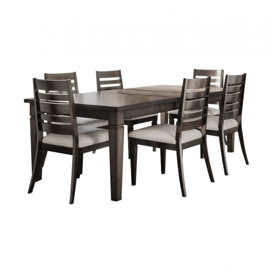 LINCOLN SQUARE 7 PC DINING SET
